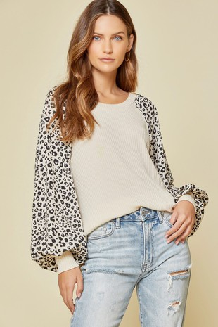 2-903P KNIT TOP