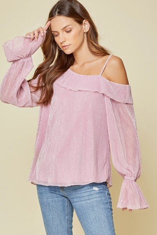 19044 PLEATED TOP