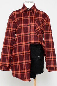 PLAID FLANNEL CHECKER SHIRT-ADT3365