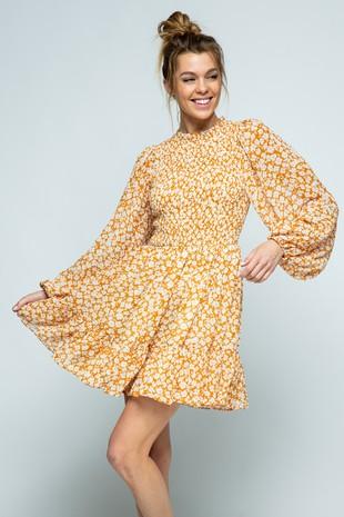 D5936P Mini-Dress