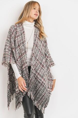 MT5542 Poncho Knit
