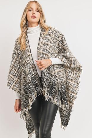 MT5544 Poncho Knit