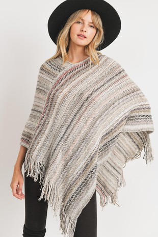 MT5543 Poncho Top