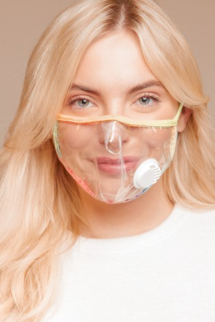 HM1250 CLEAR FACE MASK