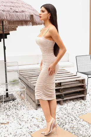 CWDSD555-Ruched Dress3
