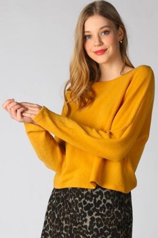 Brushed Thermal Relaxed Top