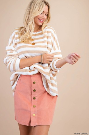 C5101 BRETON STRIPED SWEATER