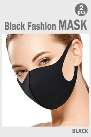 BLACK FASHION MASK-C711