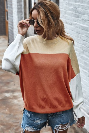 MULTI COLOR SWEATSHIRT-CWTTL406-B907