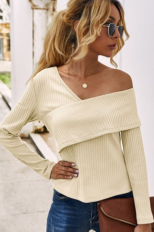 OFF SHOULDER TOP-CWTTL411-B905