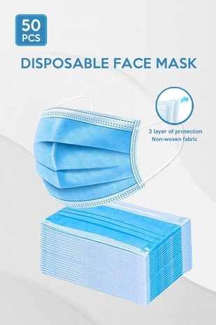 Face Mask - 3 Layer of Protection.....