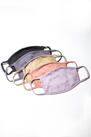 BM001 - BAMBOO FABRIC FACE COVERING MASK