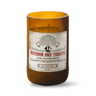 Bourbon And Tobacco Soy Candle Spirits Collection