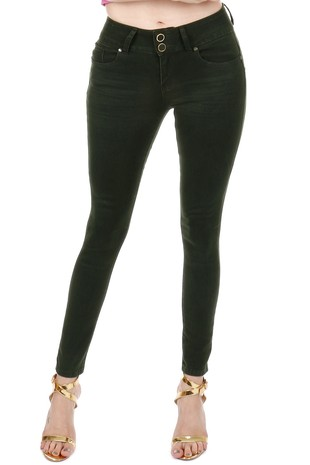 Womens High Rise Butt-lift Super Skinny Jeans S492
