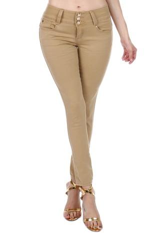 Womens High Rise Butt-lift Super Skinny Jeans S496