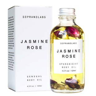 Jasmine Rose Sensual Body Oil BD1003