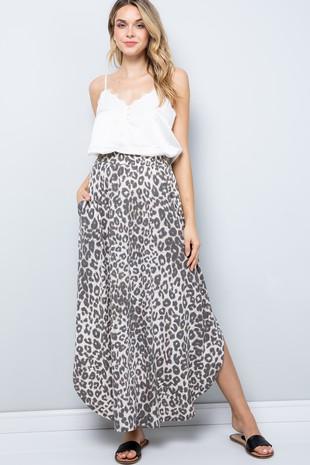 SK9025 Leopard Skirt..