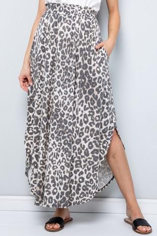 SK9025 Leopard Jersey Maxi Skirt......-Clone