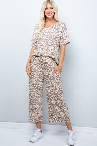 SB9030 Pants Leopard