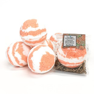 Sweet Georgia Peaches bath bombs