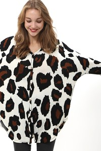 TC1887 BIG LEOPARD PRINT SHIRTS